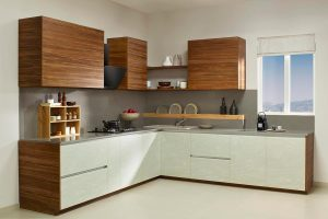 Enchanting Veneer Blended With Smart Corian Finish