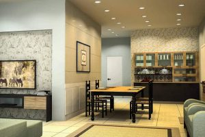Living Plus Dining Concept