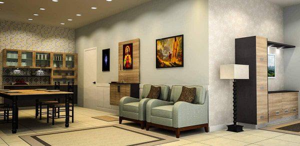 Prayer Unit, Crockery And Foyer Unit