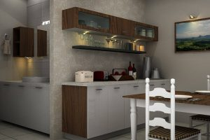 Crockery Unit In Laminate