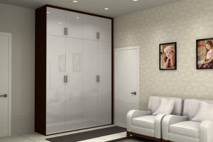 Hinged Wardrobe With Loft