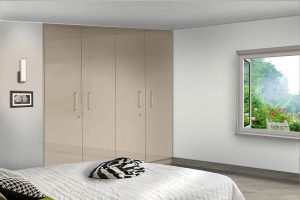 High Gloss Hinged Wardrobe