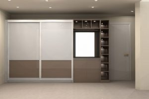 Sliding Wardrobe With Dressing Unit