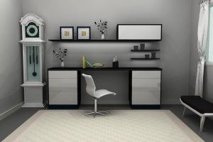 Simple Study Table Unit
