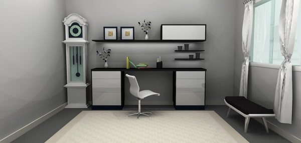 Simple Study Table Unit