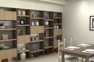 Full Wall Crockery Unit