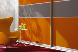 Orange Pop Wardrobe Design
